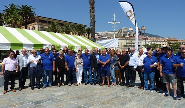 I Pescadori in Festa à Ajaccio : Saint Erasme bénit la mer