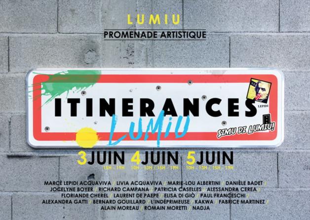 Lumiu : La 3eme édition d'itinérances