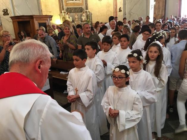 Les professions de foi à Calvi