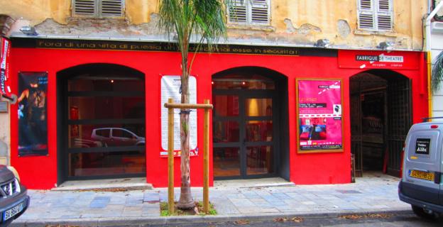 Bastia : Attention danger sur la... Fabrique de Théâtre