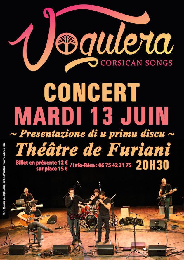Vogulera : Premier album au théâtre de Furiani
