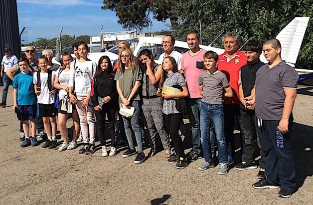 Ajaccio : Les élèves de la Segpa du collège Arthur Giovoni décollent !