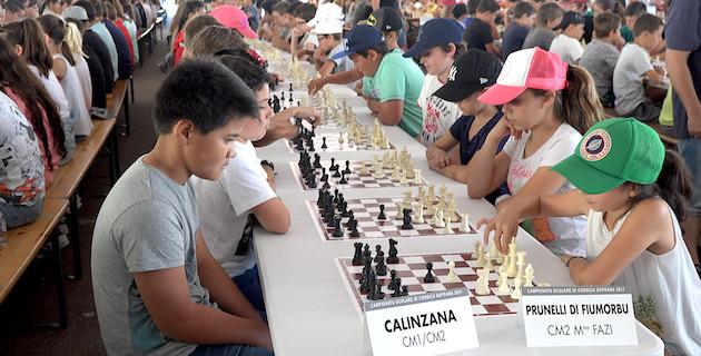 Le championnat scolaire d'échecs de Haute Corse : Le plus grand tournoi du monde
