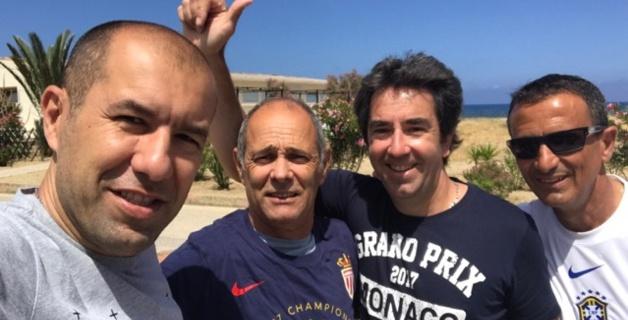 Vacances bien méritées à Algajola pour Léonardo Jardim