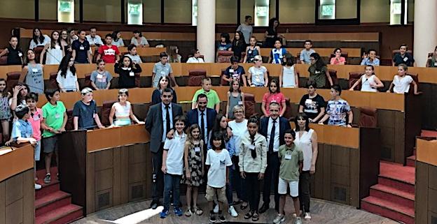 L'Assemblea di Zitelli corsi pour éduquer les citoyens de demain