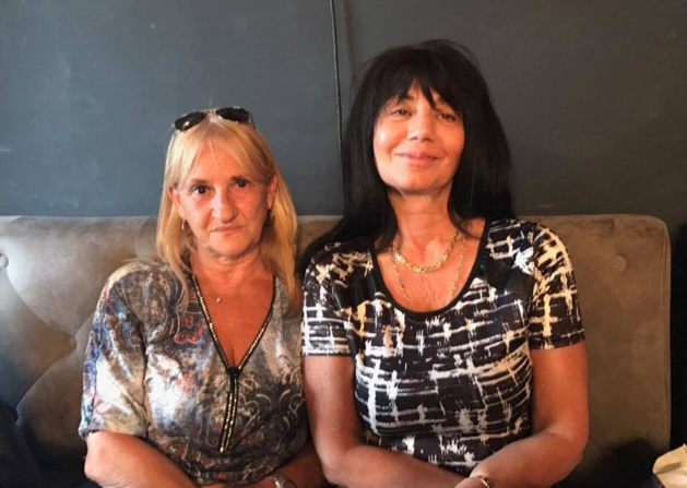 Corinne Bucchini (à droite) et sa suppléante Jeanne Pietri