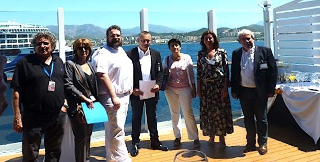 Le premier navire au gaz naturel liquéfié à Ajaccio :  La croisière respire…
