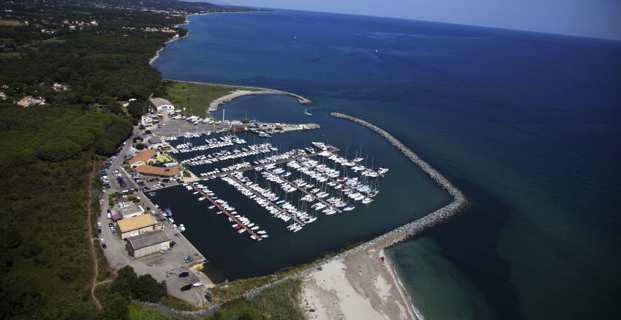 Le port de Taverna, commune de Santa Maria Poghju.