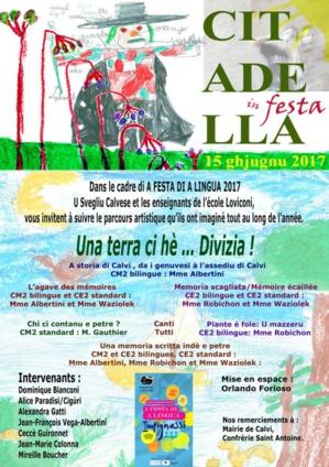 «Una terra cì hè… Divizia!» : Parcours artistique à travers Calvi jeudi