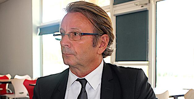Philippe Lacombe, recteur de l'Académie de Corse au collège de Calvi