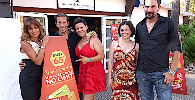 Diana Lailly, Stéphane Allegrini, Candice Emmanuelli, Christine Battestini