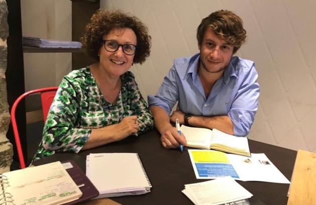 Législatives : Maria Guidicelli et Mathieu Laredo espèrent la victoire dans la première circonscription de Corse-du-Sud.