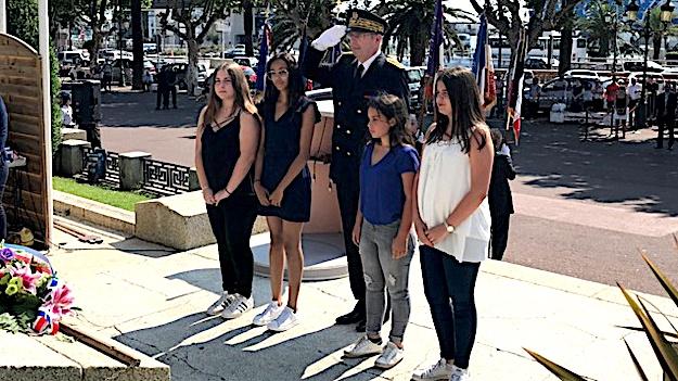 Bastia a commémoré l'appel à la résistance du général de Gaulle