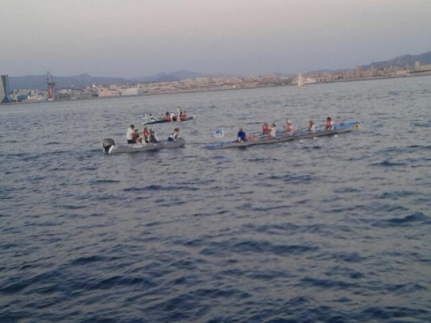 25 rameurs, dont 11 en situation de handicap, tentent la traversée Marseille-Calvi
