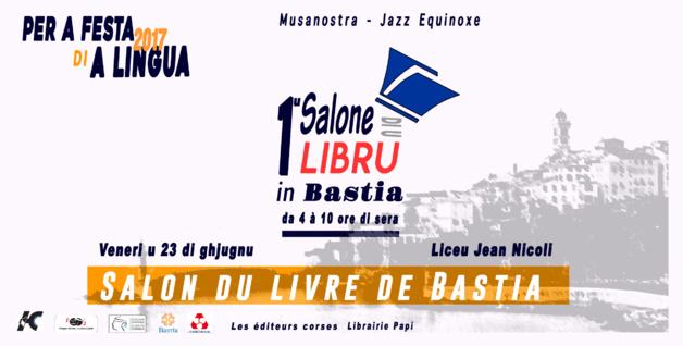 """""""Primu salone di u libru in Bastia"""" au lycée Jean-Nicoli"""