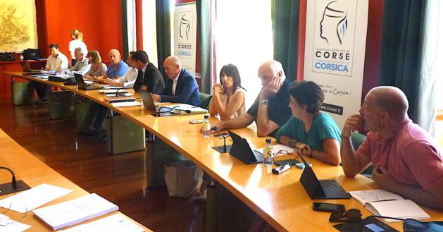 "Office des Transports de la Corse  : La ""der"" de Jean-Félix Acquaviva. Vanina Borromei prend la suite"