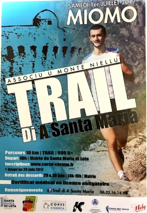 Miomu :  U trail di  a Santa  Maria è i scrontri di é pieve