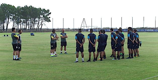 SC Bastia : Reginald Ray a dirigé son premier entraînement