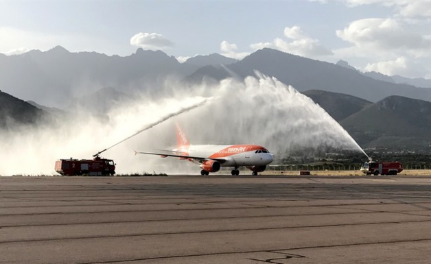 Vol inaugural Genève-Calvi :  EasyJet poursuit son implantation en Corse