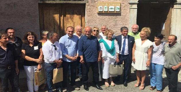 Vivario : inauguration de la première Casa di a Foresta
