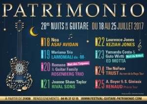 Patrimonio 2017, les Nuits de la Guitare frappent un grand coup !