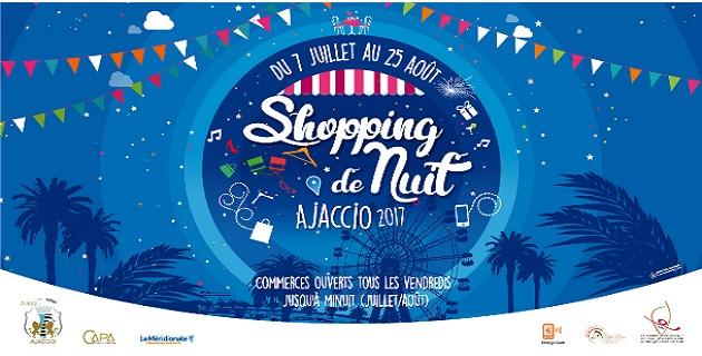 Ajaccio : Lancement et programme du shopping de Nuit