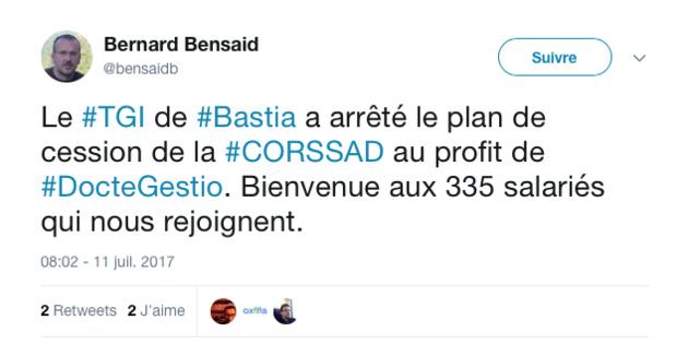 Reprise du CORSSAD : Le STC dénonce l'annonce, prématurée, de DocGestio. La CGT ne comprend pas…