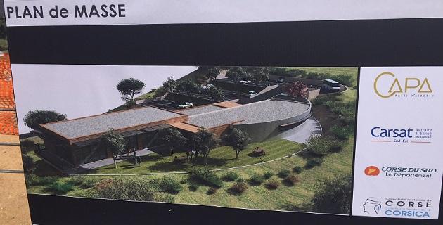 Pose de la première pierre : Peri aura son centre communautaire, social et culturel