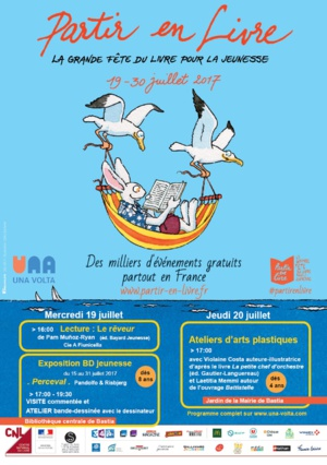 Bastia : L'été se poursuit à Una Volta avec « Partir en livres »