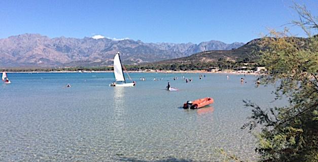 L'interdiction de baignade levée à la plage de Calvi