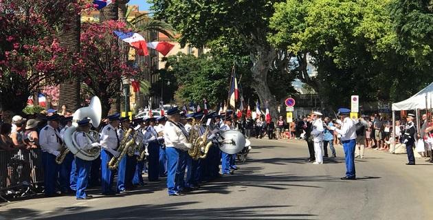 14 juillet à Ajaccio: défilé, réception, feu d'artifice ... les moments qui ont marqué la journée