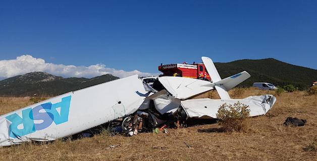 Ajaccio : Le pilote de l'ULM qui s'est écrasé à Capo-di-Feno est décédé