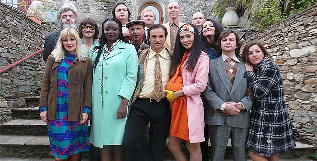 Gérard Guerrieri et les acteurs de  Afrika Corse (@CNI)