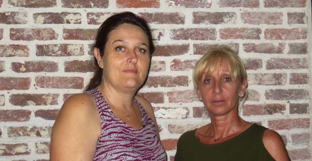 Les deux conseillères municipales nationalistes de Ghisonaccia : Pascale Simoni, élue de Corsica Libera, et Cécilia Sisti, élue de Femu a Corsica.