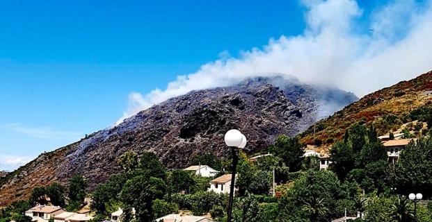Biguglia : La lutte se poursuit sur les lisières de l'incendie