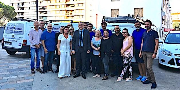 Ajaccio : Reprise d'entreprise réussie pour Euro Nettoyage