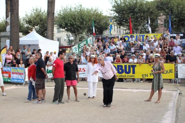 """Avec Michel Boujenah et Marina au VIP """"Paoli"""" Ile-Rousse (Photo Gilbert Guizol)"""