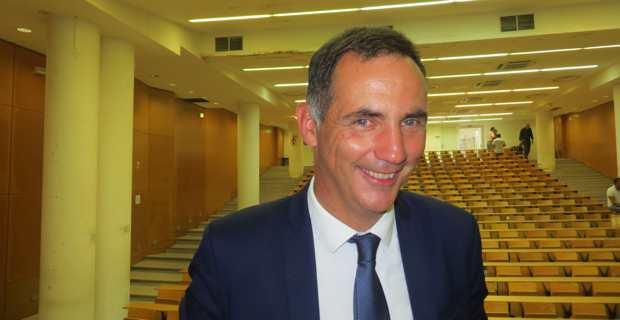 Gilles Simeoni, leader des Nationalistes modérés de Femu a Corsica, et président du Conseil exécutif de la Collectivité territoriale de Corse.