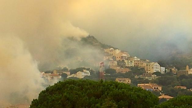 Incendie de Biguglia : Les risques de pollution de l'air et de l'eau écartés selon AM Environnement