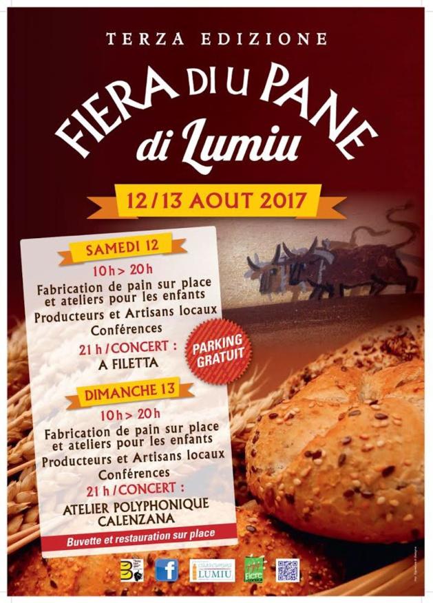 Fiera di u pane les 12 et 13 août à Lumio