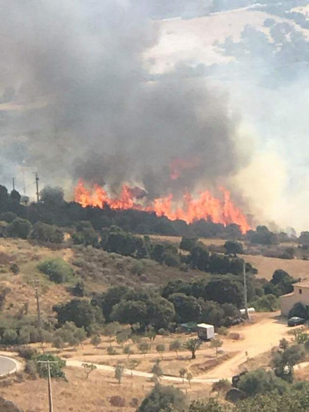 """Deux départ de feux dans l'arrière pays Ajaccien: """" vision apocalyptique"""" disent les habitants d'Appietto et Afa"""