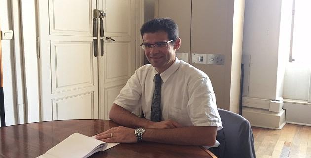 Xavier Delarue, nouveau coordonnateur  pour la sécurité en Corse