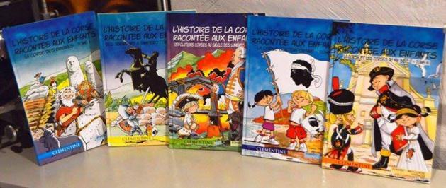 Lisa d'Orazio : L'Histoire de la Corse racontée aux enfants
