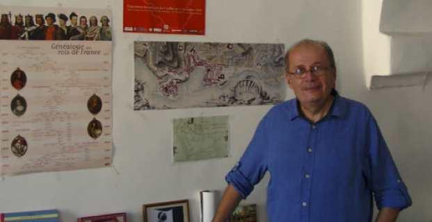Philippe Peretti, adjoint au maire, délégué à la mise en valeur du patrimoine