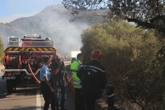 Incendie : A Corbara, le feu est parti d'une... caravane !