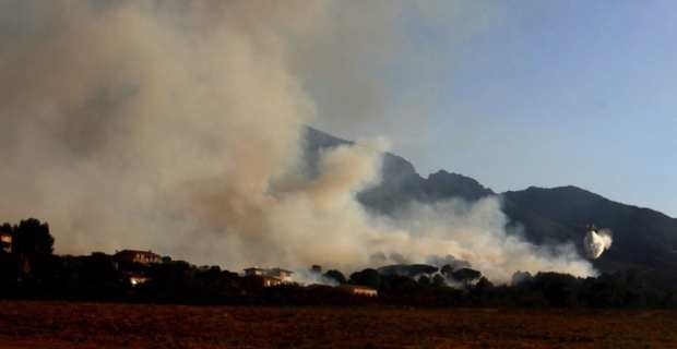 Incendie de Calenzana-Suare : Plus de 120 hectares calcinés et des foyers sous surveillance