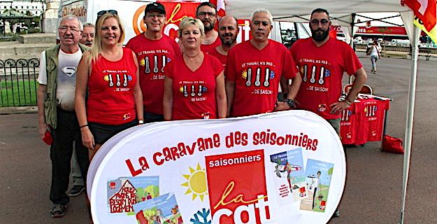 CGT : La caravane des saisonniers prend fin à Bastia