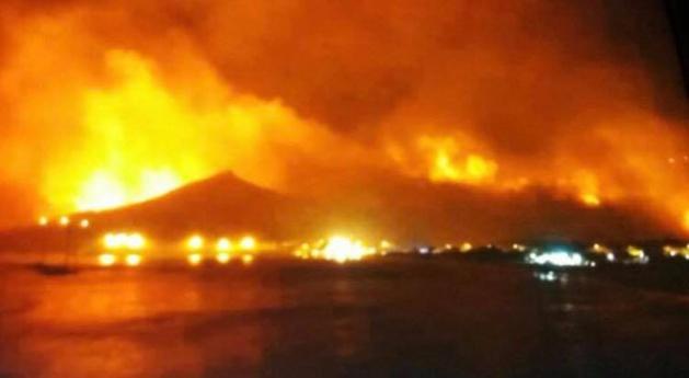 Pietracorbara en flammes…