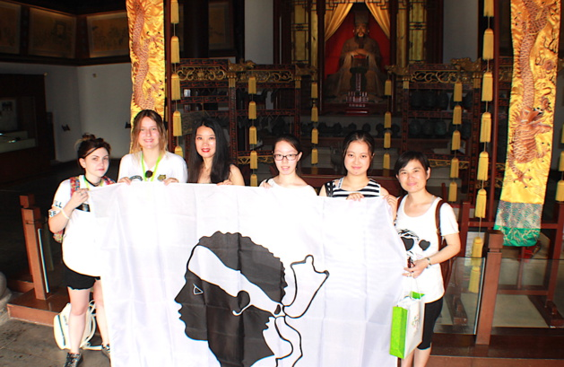 La Corse à Shanghai avec Manon et Clelia : A Bandera au pays de Confucius