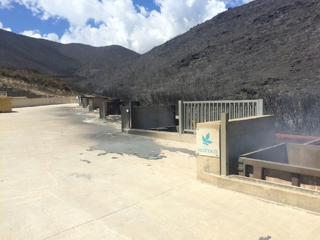 Incendie de Sisco : La recyclerie fermée